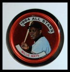 1964 Topps Coins #151   -   Willie Mays All-Star Front Thumbnail