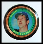 1971 Topps Coins #145  Don Sutton  Front Thumbnail