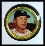 1964 Topps Coins #120   Mickey Mantle   Front Thumbnail