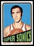 1972 Topps #34  Jim Fox   Front Thumbnail