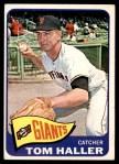 1965 Topps #465  Tom Haller  Front Thumbnail