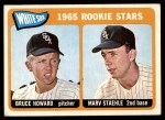 1965 Topps #41   -  Bruce Howard / Marv Staehle White Sox Rookies Front Thumbnail