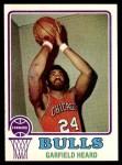 1973 Topps #99  Garfield Heard  Front Thumbnail
