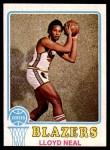 1973 Topps #129  Lloyd Neal  Front Thumbnail