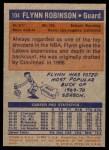 1972 Topps #104  Flynn Robinson   Back Thumbnail