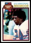 1979 Topps #144  Otis Armstrong  Front Thumbnail
