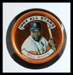 1964 Topps Coins #141   -   Bill White All-Star Front Thumbnail