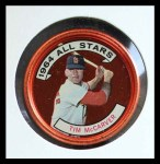 1964 Topps Coins #156   -   Tim McCarver All-Star Front Thumbnail