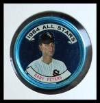 1964 Topps Coins #140   -   Gary Peters All-Star Front Thumbnail
