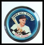 1964 Topps Coins #133   -   Harmon Killebrew All-Star Front Thumbnail