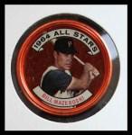 1964 Topps Coins #143   -   Bill Mazeroski All-Star Front Thumbnail