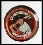 1964 Topps Coins #145   -   Ken Boyer All-Star Front Thumbnail