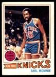 1977 Topps #6  Earl Monroe  Front Thumbnail