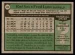 1979 Topps #480  Fred Lynn  Back Thumbnail