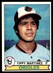 1979 Topps #491  Tippy Martinez  Front Thumbnail