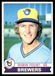 1979 Topps #95  Robin Yount  Front Thumbnail