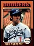 1975 Topps #588  Rick Auerbach  Front Thumbnail