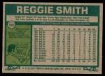 1977 Topps #345  Reggie Smith  Back Thumbnail