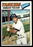 1977 Topps #408  Cesar Tovar  Front Thumbnail