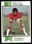 1973 Topps #346  Bruce Taylor  Front Thumbnail