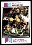 1973 Topps #366  Scott Hunter  Front Thumbnail