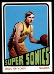 1972 Topps #136  Dick Snyder   Front Thumbnail