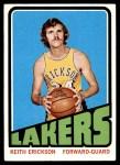 1972 Topps #140  Keith Erickson   Front Thumbnail