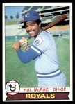 1979 Topps #585  Hal McRae  Front Thumbnail