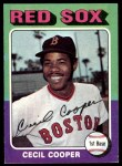 1975 Topps #489  Cecil Cooper  Front Thumbnail