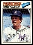 1977 Topps #54  Sandy Alomar  Front Thumbnail