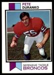 1973 Topps #466  Pete Duranko  Front Thumbnail
