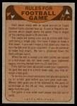 1974 Topps  Checklist   Falcons Back Thumbnail