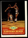 1973 Topps #204   ABA East Semi-Finals Front Thumbnail