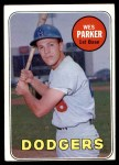 1969 Topps #493 WN Wes Parker  Front Thumbnail