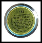 1964 Topps Coins #161 AL  -  Wayne Causey All-Star Back Thumbnail
