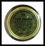 1964 Topps Coins #39   Floyd Robinson   Back Thumbnail
