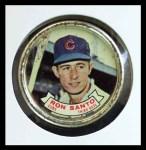 1964 Topps Coins #68   Ron Santo   Front Thumbnail