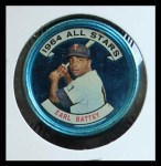 1964 Topps Coins #136   -   Earl Battey All-Star Front Thumbnail