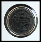1964 Topps Coins #64   Ron Perranoski   Back Thumbnail