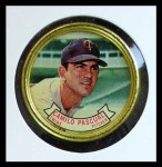 1964 Topps Coins #76   Camilo Pascual   Front Thumbnail