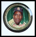 1964 Topps Coins #78   Bill White   Front Thumbnail