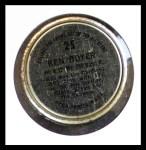 1964 Topps Coins #25   Ken Boyer   Back Thumbnail