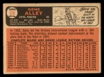 1966 Topps #336  Gene Alley  Back Thumbnail