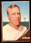 1962 Topps #213  Richie Ashburn  Front Thumbnail