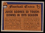 1976 Topps #6   -  O.J.Simpson  Record Breaker Back Thumbnail