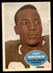 1960 Topps #23  Jim Brown  Front Thumbnail