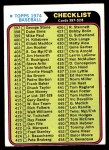 1974 Topps #414   Checklist 4 Front Thumbnail