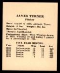 1941 Harry Hartman #25  James Turner  Back Thumbnail