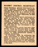 1941 Harry Hartman #10  Harry Hartman  Back Thumbnail