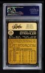 1973 O-Pee-Chee #279  Mike Strahler  Back Thumbnail